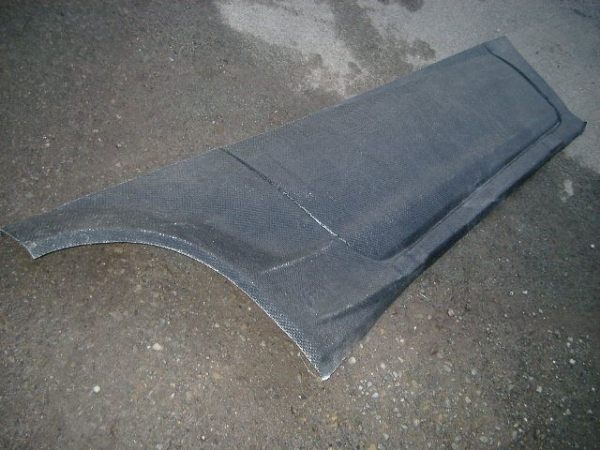 Fiesta R5 Test Side Protector R/H